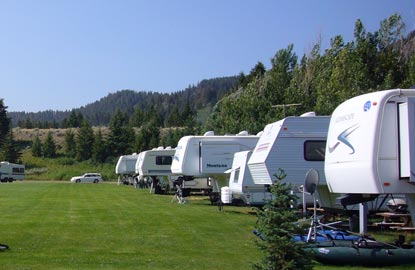RVs and Cabins near West Yellowstone